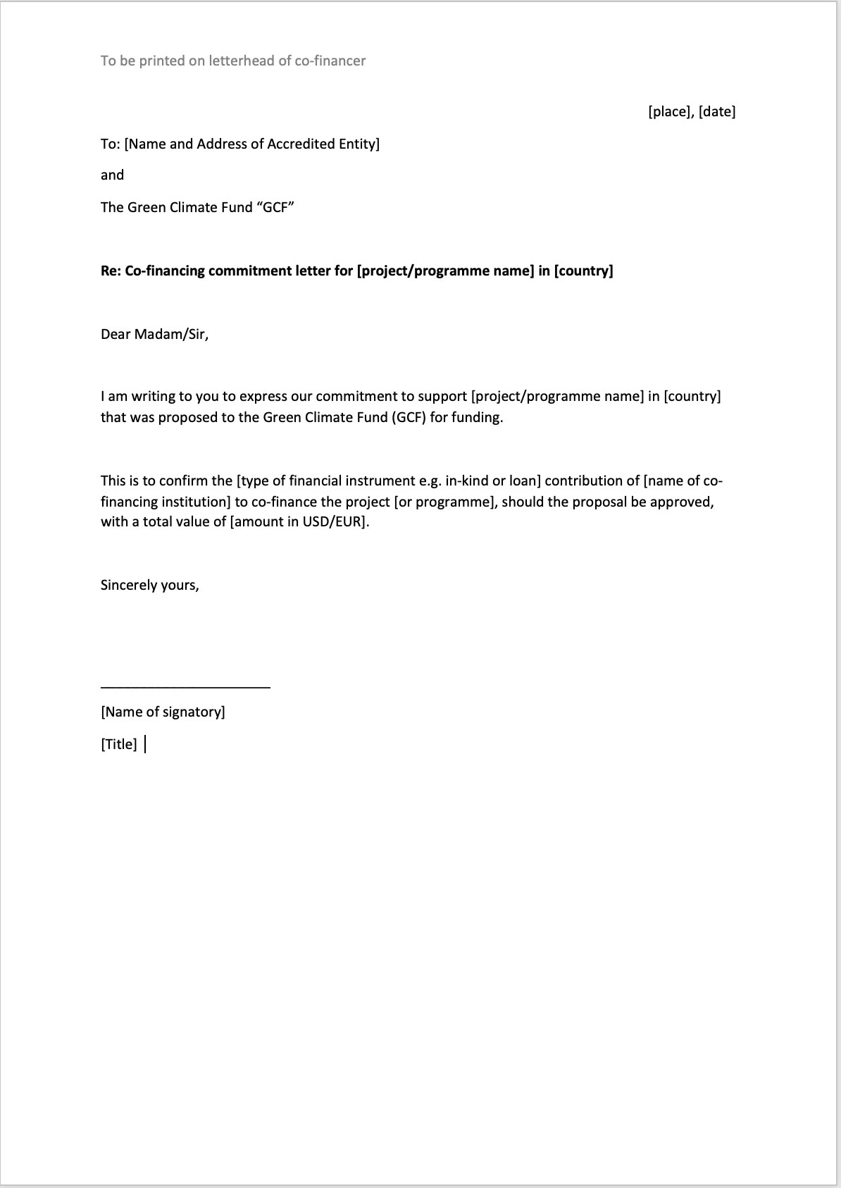 cover-5596 Proposal Support Letter Template on lawn care, for funding, sample contract, decline for, sample project, offer counter, business plan, school activities, intent business,